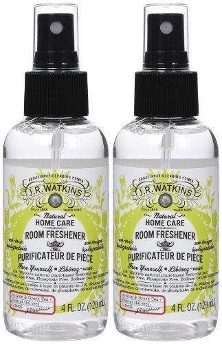 J. R. Watkins Room Spray - Aloe & Green Tea - 4 oz - 2 pk (Room Green Tea)