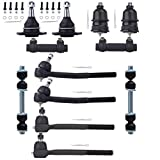 95 cadillac fleetwood brougham - ECCPP Front Ball Joints Tie Rod End Adjusting Sleeves and Sway Bar Link Kit for 1977-1996 Buick Chevrolet Pontiac (12Pcs)
