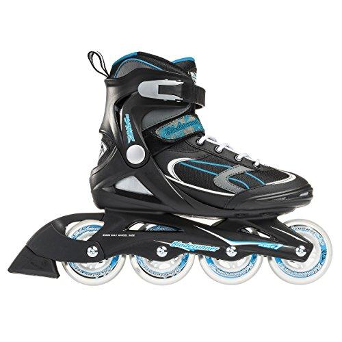Bladerunner by Rollerblade Advantage Pro XT Women\'s Adult Fitness Inline Skate Black and Light Blue Inline Skates