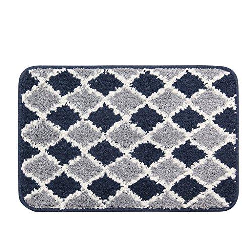 Grey Advantage Corner Desk - Edge to carpet Simple Bend Waist Heater Water Heated Slip Door Entrance Corner Bedside Kitchen Dusty Dust Cover, 50 80cm (Color : Gray)