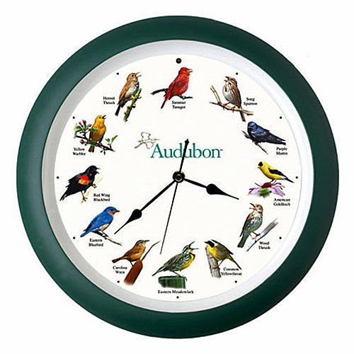 KensingtonRow Home Collection Wall Clocks - Singing Birds Wall Clock - 13