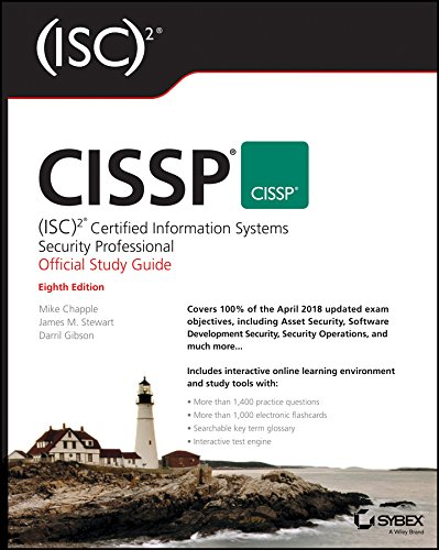 CISSP: Certified Information Systems Security Professional Official Study Guide