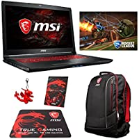 MSI GL72M 7RDX (i7-7700HQ, 32GB RAM, 1TB SATA SSD + 1TB HDD, NVIDIA GTX 1050 2GB, 17.3 Full HD, Windows 10) Gaming Notebook