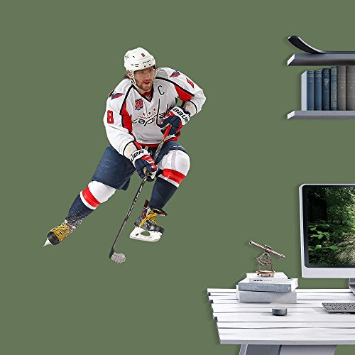 NHL Washington Capitals Alex Ovechkin Fathead Jr. Home Decor Photo, Junior Size