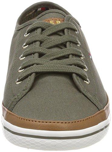 Femme Kesha Vert Sneakers 011 Iconic dusty Basses Sneaker Tommy Hilfiger Olive qOTAnAf