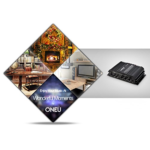 ONEU Amplificateur Audio Hi-Fi Stéréo 2.1 Canal 2x45W et 1x68W Subwoofer Indépendant Sortie Amplificateur Voiture with Port USB 5V Sortie Puissance on sale