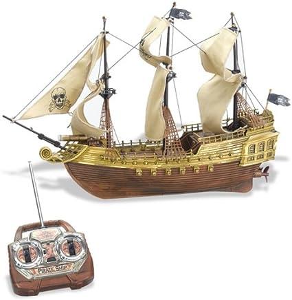Control Remoto Barco Pirata Toys Games