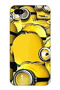 Creatingyourself Hot Tpye Minions 2015 Case Cover For Iphone 4/4s For Christmas Day's Gifts