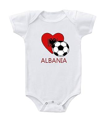 Amazon.com: Futbol de la fútbol albanesa de fútbol body de ...