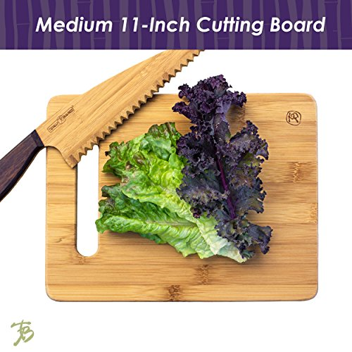 Totally Bamboo 3-Piece Bamboo Serving and Cutting Board Set by Totally Bamboo (Image #3)