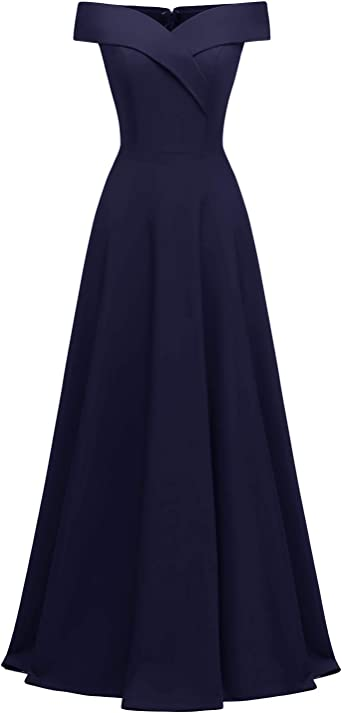 Viloree Robe Femme Elégante de Mariage Soiré