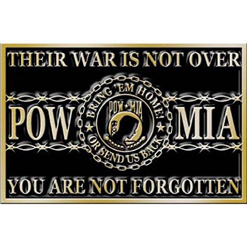 Vietnam POW MIA You Are Not Forgotten Belt Buckle ()