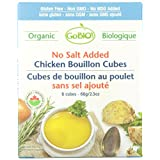 Organic No Salt Added Chicken Bouillon Cubes - 6 Cubes