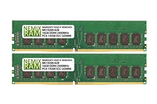 Kingston ValueRAM 16GB 2400MHz DDR4 ECC CL17 SODIMM 2Rx8 Laptop Memory KVR24SE17D8//16
