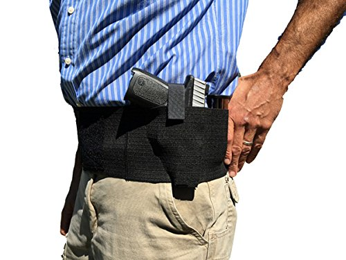AlphaHolster-Belly-Band-Hand-Gun-Holster-Abdomen-Holster-Cross-Draw-Any-Gun-Any-Clothing-Right-or-Left-Hand-Men-or-Woman