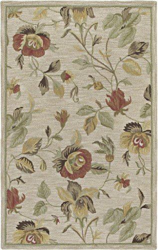 Kaleen Rugs Rugs Khazana Collection Savannah-57 Linen Hand Tufted 3