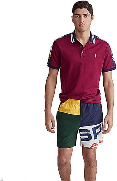 Polo Ralph Lauren Custom Slim Fit Mesh Polo: Amazon.es: Ropa y accesorios