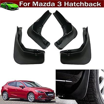 4Pcs Car Mud Flap Splash Guard Fender Mudguard Mud Guard For Mazda 3  Hatchback 2014 2015