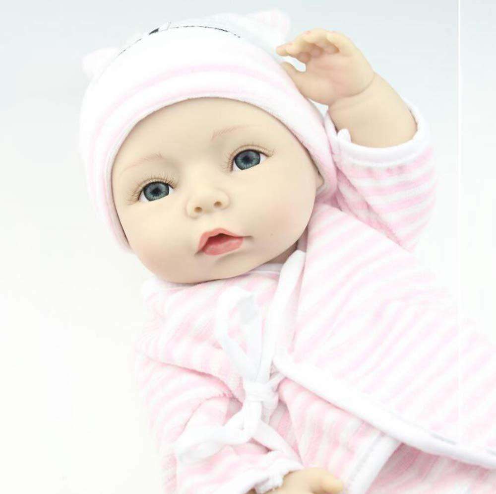 nueva gama alta exclusiva Hongge Hongge Hongge Reborn Baby Doll,Regalo de cumpleaños de muñeca Realista Juguetes realistas Princesa Juguetes niños 40cm  marcas de moda