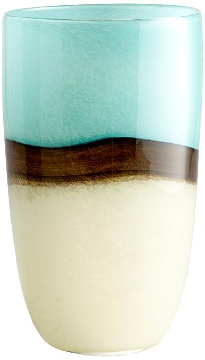 Amazon Cyan Design 05874 Turquoise Earth Vaselarge Home Kitchen