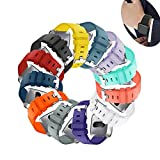 Sibode for Fitbit Versa Bands,Replacement Bracelet Strap Wristband for Women Men Small Large Multi Colors Sports Watch Band