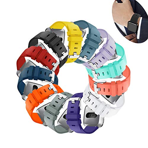 Sibode for Fitbit Versa Bands,Replacement Bracelet Strap Wristband for Women Men Small Large Multi Colors Sports Watch Band by Sibode
