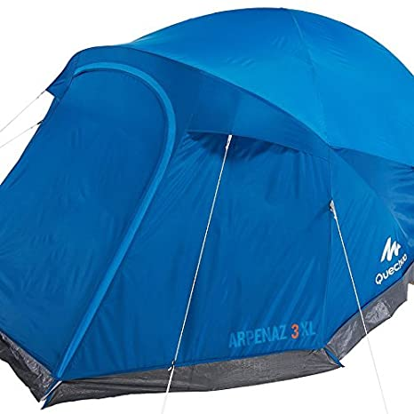 Decathlon Quechua - Tienda para familia, unisex, - ARPENAZ XL 3 TENT FOR 3 PEOPLE BLUE: Amazon.es: Deportes y aire libre