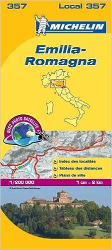 Carte Italie Emilia Romagna.Emilia Romagna 357 Carte Local Italie Amazon Ca Michelin