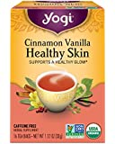 Yogi Tea Cinnamon Vanilla Healthy Skin Tea, 16 ct