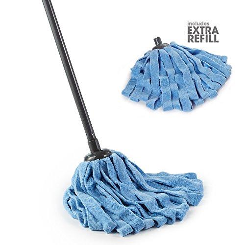 O-Cedar Microfiber Cloth Mop (Microfiber Cloth Mop 1 Extra Refill, Pack - 1)