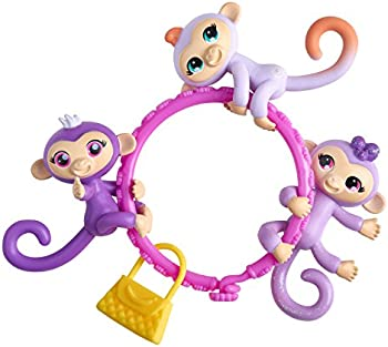 3 Pc. WowWee Fingerlings Minis Plus Bonus Bracelet and Charm