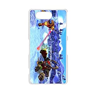 Generic For Xperia Z3 Mini Design With Skylanders 2 Love Phone Cases For Teens Choose Design 1