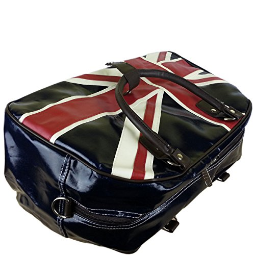 Dot Weekend Print Oilcloth UNION Flower Travel New Polka JACK BLUE Bag Holdall Owl OESxwU