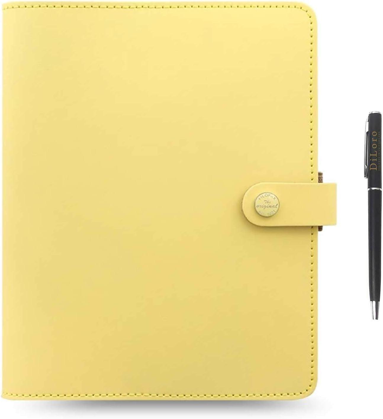 100/% Schreibwaren Nachfüllpatrone Filofax A5 Gelb Liniert Notepaper