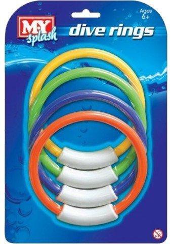 M.Y 4 Unterwasser Dive Ringe Schwimmen//Tauchen Sinkende Schwimmbad Spielzeug Kandy Toys TY8262