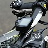 Baynne Bike Computer Speedometer Wireless Odometer Cycle Computer Multi-Function Large LCD Back-light Display