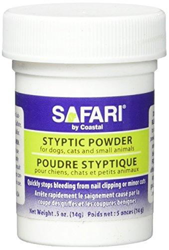 SAFARI Styptic Powder for Dogs, Cats and Small Animals, Dog Health Supplies, Cat Health Supplies, Pet Supplies for Dogs, Pet Supplies for Cats, Dog Accessories, Cat Accessories, Pet Grooming Tools