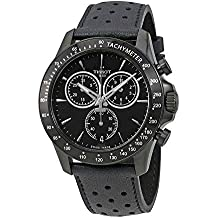 Tissot Men's Quartz Stainless Steel Casual Watch, Color:Black (Model: T1064173605100)