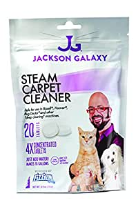 Jackson galaxy steam cleaner 20 tablets for Jackson galaxy amazon