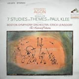 Stravinsky: Agon / Schuller: 7 Studies on Themes of Paul Klee / Boston Symphony Orchestra / Erich Leinsdorf, Conductor