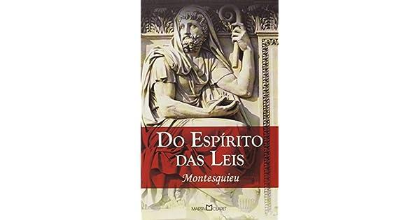 Livro O Espirito Das Leis Montesquieu Pdf - Lei de Partilha