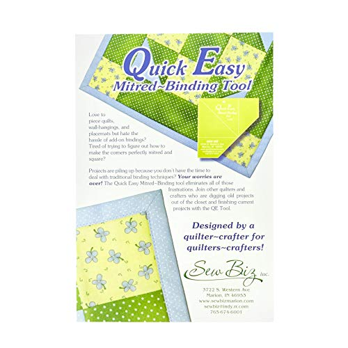 (Quick Easy Miter Binding Tool)