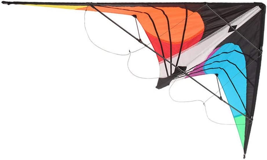 Gyubay Cometa Un Gran Juguete al Aire Libre for los Principiantes de diversión al Aire Libre Deportes Hermosa y Duradera (Color : Multi-Colored, Size : One Size)