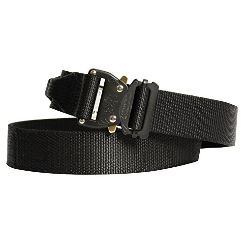 Fusion Tactical Military Police Riggers Belt Black Medium 33-38