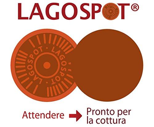 Lagostina Ingenio Essential Batteria di Padelle, 3 Pezzi, Alluminio, Nero, 28 cm, 3 unità