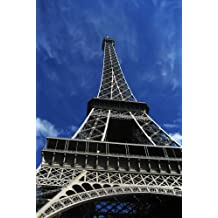 Wall Mural Photo of: Paris Eiffel Tower. Full wall mural size: 6-Feet wide x 9-Feet high (1,83m x 2,75m) Dry Strippable, Removable, Reusable, Washable, Easy to hang for a seamless look. Other sizes in stock and also custom sizes available.