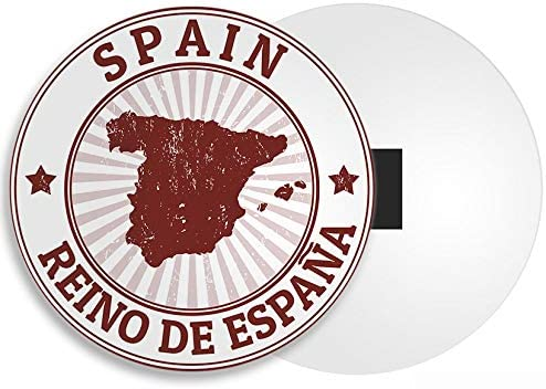 Destino Vinilo Ltd España Mapa Imán - Espana Sevilla Regalo de la Bandera de Viajes a Madrid Barcelona # 4508: Amazon.es: Hogar