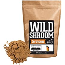 Cordyceps Mushroom Extract 10:1 Concentrated Powder by Wild Foods for Concentration, Mood, Nootropic (4 ounce)