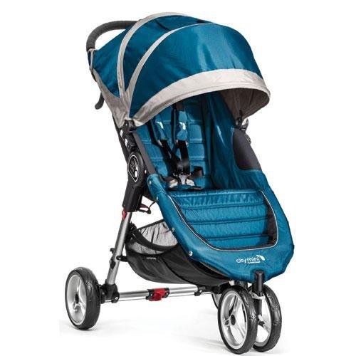 Baby Jogger City Mini Stroller in Teal, Gray Frame, BJ11429