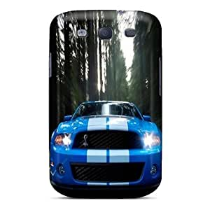 MansourMurray Samsung Galaxy S3 Best Hard Phone Cases Support Personal Customs Stylish Ford Mustang Skin [AYv7014gnwb]